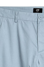 Cotton chinos Slim fit - Light grey - Men | H&M CN 3