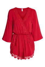 Playsuit - Red - Ladies | H&M 2