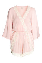 Playsuit - Powder pink - Ladies | H&M CN 2