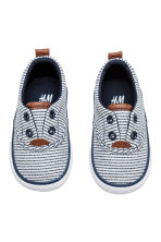 Trainers - White/Dark blue/Striped - Kids | H&M 2