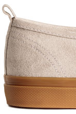 Slip-on trainers - Beige - Ladies | H&M 5