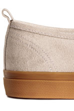 Slip-on trainers - Beige - Ladies | H&M 3