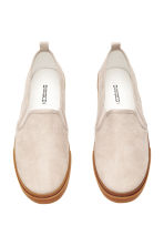 Slip-on trainers - Beige - Ladies | H&M 2