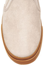 Slip-on trainers - Beige - Ladies | H&M 4