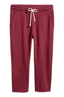 Cropped sweatpants