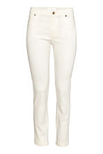 Ankle-length trousers - White - Ladies | H&M CN 2
