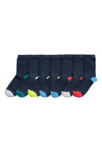 7-pack socks - Dark blue - Kids | H&M 1