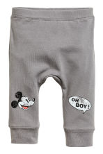 3-piece jersey set - Light beige/Mickey Mouse -  | H&M CN 2