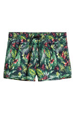 Short swim shorts - Dark blue/Floral - Men | H&M 2