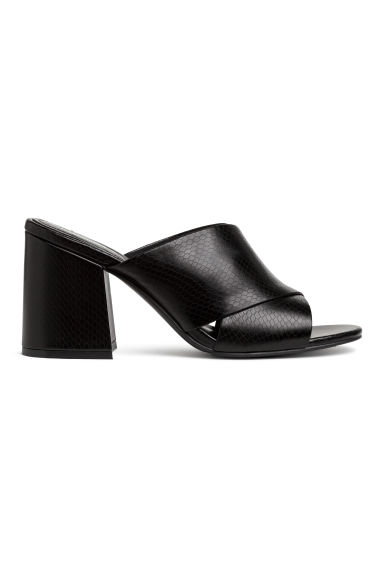 Mules - Black - Ladies | H&M IE 1