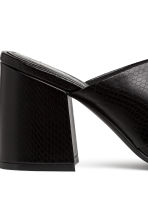 Mules - Black - Ladies | H&M IE 4