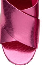 Mules - Pink/Metallic - Ladies | H&M IE 3