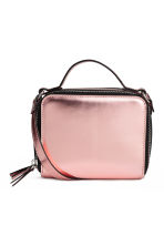 Mini shoulder bag - Pink/Metallic - Ladies | H&M 1