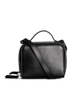 Mini shoulder bag - Black - Ladies | H&M 1