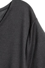 Lyocell top - Dark grey - Ladies | H&M 3