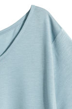Lyocell top - Light blue - Ladies | H&M CA 2