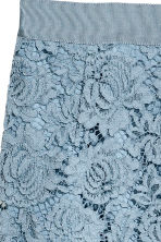 Lace pencil skirt - Blue-grey - Ladies | H&M CN 3
