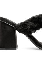 Mules - Black - Ladies | H&M CN 4