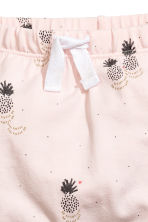 Printed jersey trousers - Light Pink/Pineapple - Kids | H&M 2