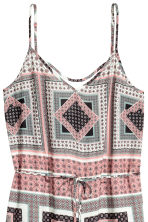 V-neck jumpsuit - Pink/Patterned - Ladies | H&M 3