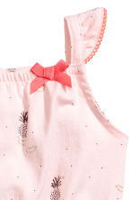 Jersey romper suit - Light Pink/Pineapple - Kids | H&M CN 2