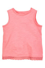 Vest top and shorts - Coral pink - Kids | H&M CN 2
