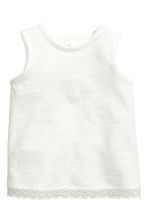 Vest top and shorts - White - Kids | H&M 2
