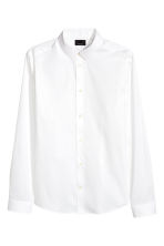 Stretch shirt Skinny fit - White - Men | H&M CN 2