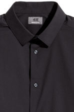 Camicia stretch Skinny fit - Nero - UOMO | H&M IT 3