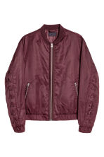 Bomber jacket - Burgundy - Men | H&M 2