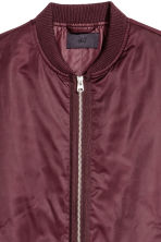 飛行員外套 - Burgundy - Men | H&M 4