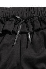 Premium cotton frilled pants - Dark grey - Kids | H&M 2