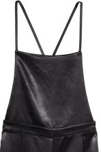 Salopette in satin - Nero -  | H&M IT 3