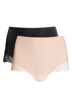 2-pack light shape briefs - Chai -  | H&M FI 2