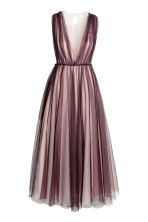 Tulle dress - Plum/Powder - Ladies | H&M 2