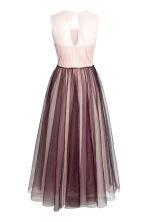 Tulle dress - Plum/Powder - Ladies | H&M 3