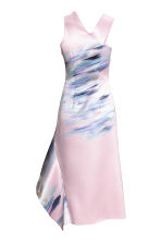 Bonded dress - Light pink/Floral -  | H&M CA 3