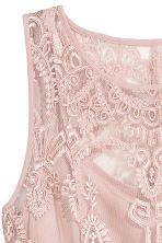 Lace dress - Old rose - Ladies | H&M 3