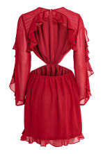 Frilled dress - Red - Ladies | H&M 3