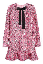Sequined dress - Pink -  | H&M CA 2