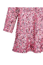 Robe à paillettes - Rose -  | H&M CA 3