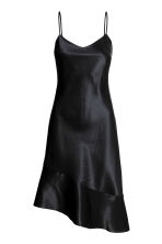 Silk dress - Black -  | H&M 2