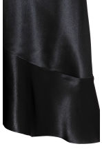 Silk dress - Black -  | H&M 3