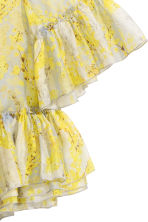 Lyocell-blend blouse - Yellow/Floral - Ladies | H&M IE 3
