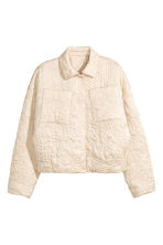 Padded jacket - Light beige - Ladies | H&M 2