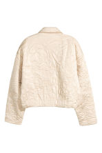 Padded jacket - Light beige -  | H&M 3