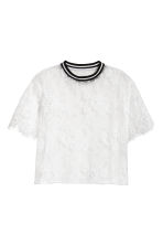 Top in pizzo - Bianco - DONNA | H&M IT 2