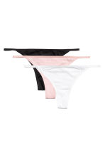 3-pack thong briefs - Black - Ladies | H&M CN 1