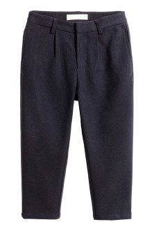 Lyocell-blend suit trousers