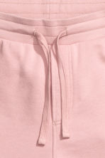 Knee-length sweatshirt shorts - Dusky pink - Men | H&M 3